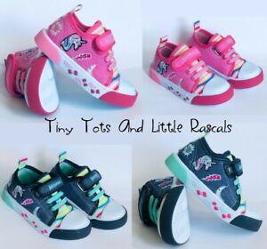 Toddler Girls Infant Canvas Shoes