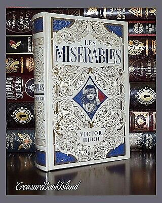 Les Miserables by Victor Hugo New Sealed Leather Bound Collectible Gift Hardback