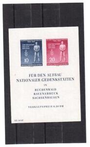 Germany DDR 1955 BL MNH** OG 25 e.