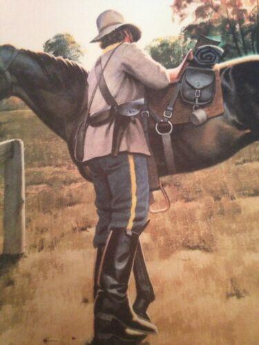 "Miller Civil War Art Print /""A Matter Of Honor/"" 25 1//2 By 19 Inches Richard R"