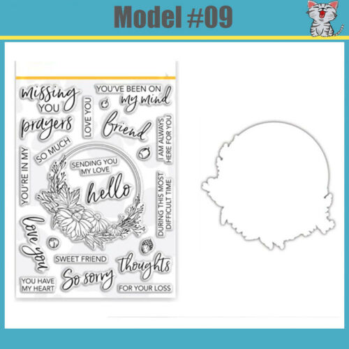 2020 New Christmas Metal Cutting Dies And Stamps Scrapbooking