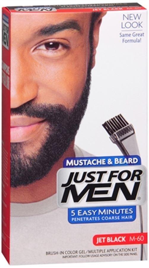 Just for Men Color GEL Mustache Beard & Sideburns 115 Jet Black 1 Each