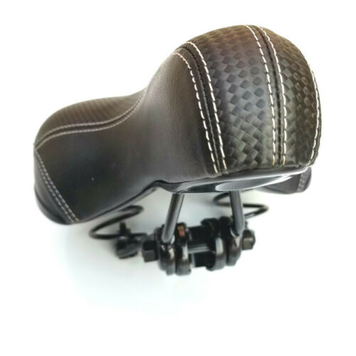 2020 Dual-spring Bike Bicycle Wide Big Bum Soft Extra Comfort Saddle Seat Pad