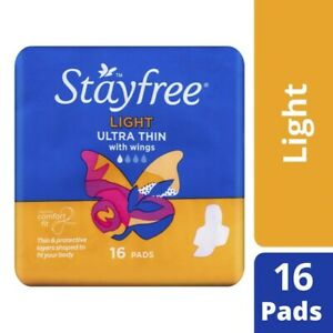 Stayfree-Ultra-Thin-with-Wings-Light-Pads-16pk