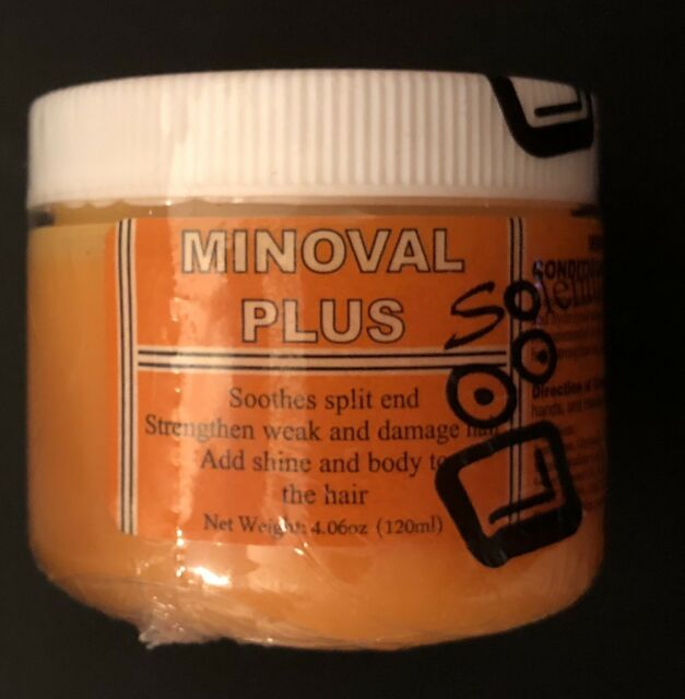 Minoval Plus Hair Regrowth Natural Vegetable Oil Pomade 120 Ml Free Shipping