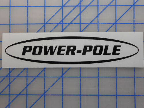 """Power Pole Sticker Decal 7.5/"""" 11/"""" 17/"""" 23/"""" Anchor Spike Blade Shallow Water Pin"""