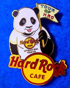 Uyeno-Eki-Tokyo-Panda-Loves-Hrc-Series-Tour-Guide-Drapeau-Hard-Rock-Cafe-Broche