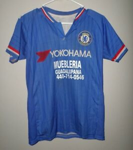 half off a2826 9ff1e Details about CHELSEA Football Club FC youth lrg London soccer jersey  football Yokohama #15