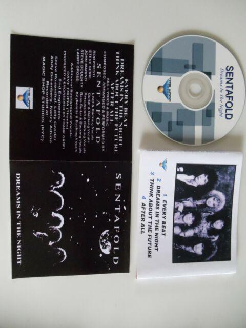 SENTAFOLD -Dreams In The Night 1989 Mega-Rare Aor/Melodic Rock EP