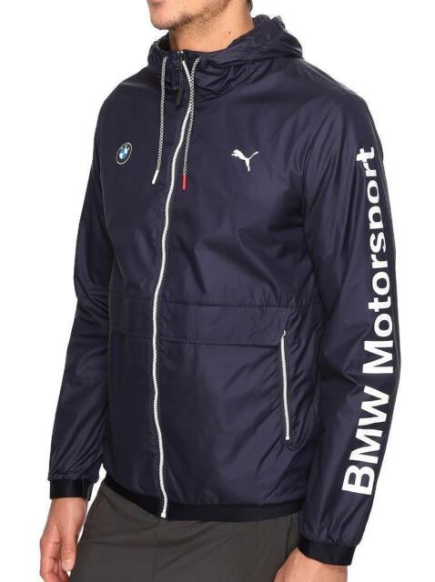 PUMA Herren BMW MSP T7 Hooded Jacke, Team Blue, 2X Large