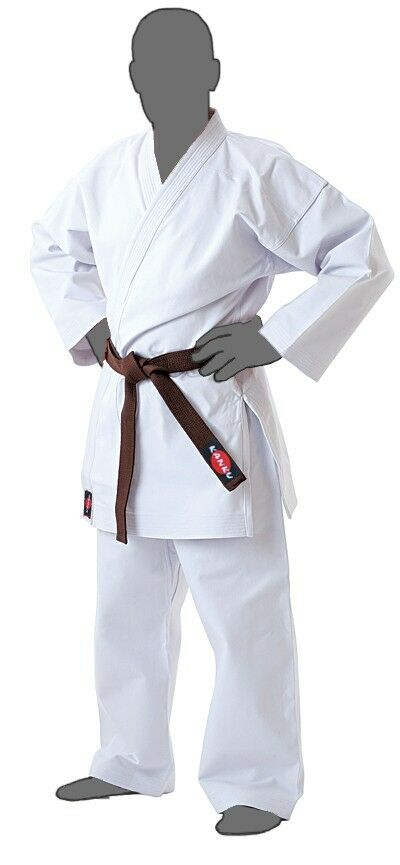 KANKU New Karate Uniform White 12 oz Heavy Weight Martial Arts