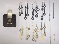 Seiko Ultra Quiet Quartz Clock Movement Mechanism Kit, Choose Your Hands