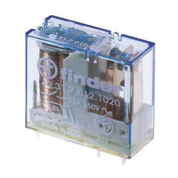 Relais 12 V 1xum 250 V 16 A Finder 40.61.7.012.0000 #4r26