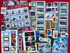 Canada-2001-Postage-Stamps-Complete-Year-Annual-Collection-Stamp-Free-Ship