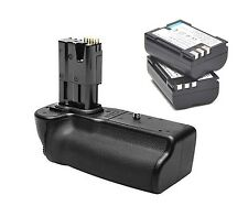 New 2pcs BLM1 camera batteries with HLD-4 battery grip For OLYMPUS E-3 E-5 E-30