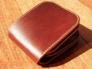 Leather Craft Patterns Diy Designs Short Wallet Paper Template