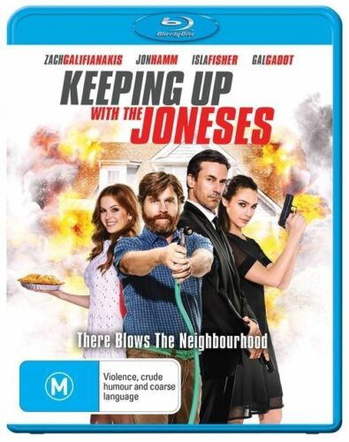 1 of 1 - Keeping Up With The Joneses (Blu-ray, 2017)