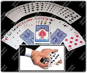 BICYCLE-SVENGALI-DECK-RED-BLUE-LONG-SHORT-PLAYING-CARD-MAGIC-FORCE-TRICK-GIMMICK