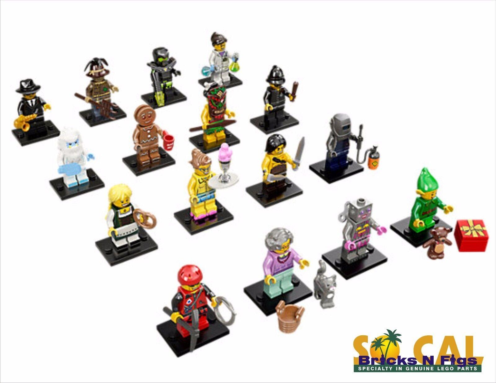 New LEGO 71002 Complete Set of 16 16 16 Minifigures Series 11 de940f