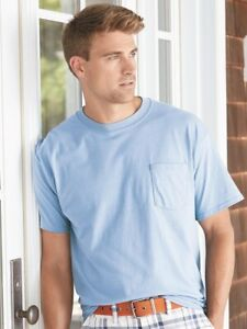 Hanes - Beefy-T with a Pocket - 5190