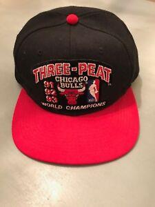 83bcc424b8e Image is loading Michael-Jordan-Autographed-Chicago-Bulls-Three-Peat-91-