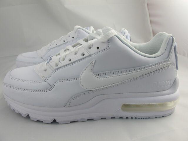 Nike Mens Air Max Ltd Running Shoes Whitewhite 316376 111 Sizes 8 10
