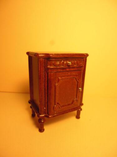CASA delle bambole mobili di qualità 1:12 Scala da comodino armadietto 205 C