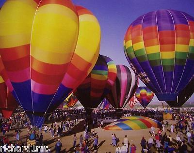 Jigsaw puzzle Hot Air Balloon Festival 1000 piece NIB