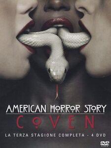 American-Horror-Story-Stagione-3-Coven-4-DVD-ITALIANO-ORIGINALE-SIGILLATO