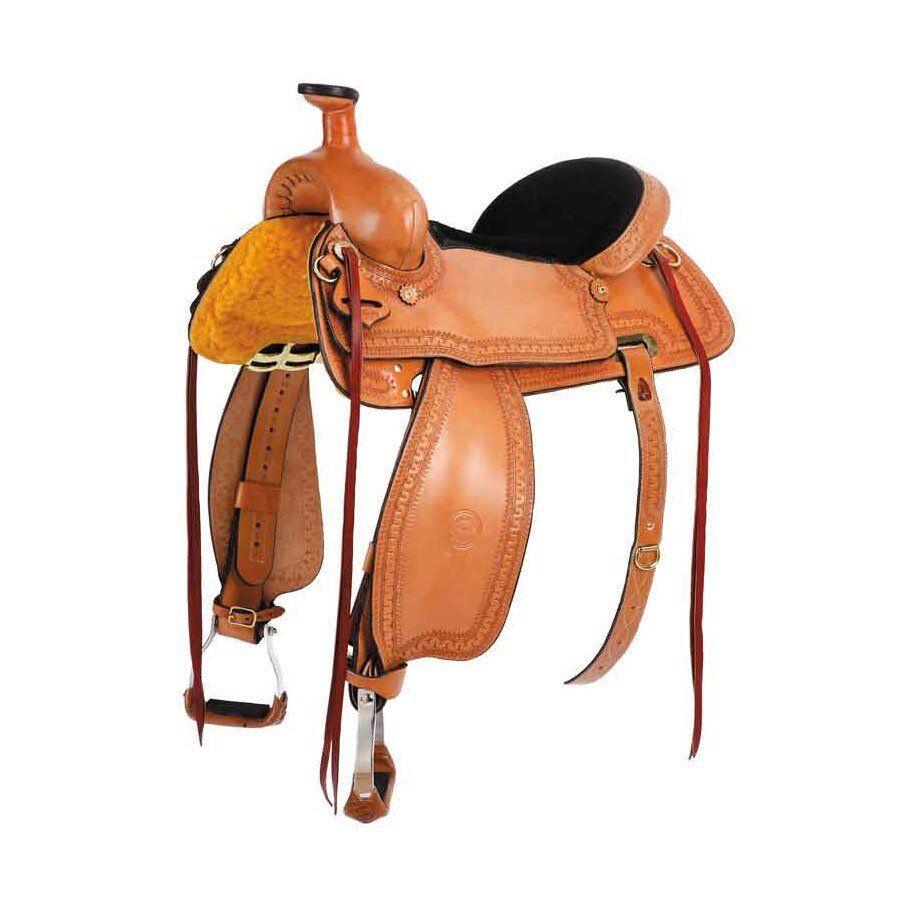 "colorado Saddlery Prairie Hawk Mule Saddle 16"" Seat"