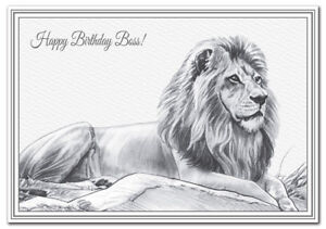 Details About Happy Birthday Boss Card Quality Wishes Special Friend Unique Supervisor Manager