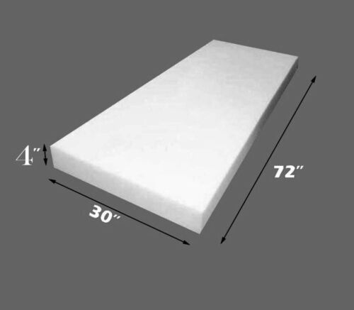 "Dry Fast Reticulated Foam Sheets Upholstery Foam 4/"" Thick 30/"" Wide x 72/"" Long"