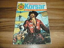der ROTE KORSAR  # 7 -- INSEL des TOTEN MANNES // Bastei Verlag 1.1.1969