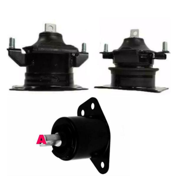 3 Engine Mount Set For Acura RL 2009-2012 Front,Rear