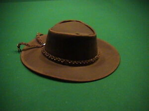 Details about CLINT EASTWOOD MAN WITH NO NAME SPAGHETTI WESTERN MOVIE  LEATHER COWBOY HAT