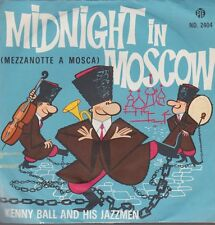 """Kenny Ball And His Jazzmen Midnight In Moscow 60`s PYE Records 7"""""""