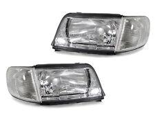 DEPO 92-94 Audi 100 C4 Replacement Headlights + Corner Lights Set Left + Right