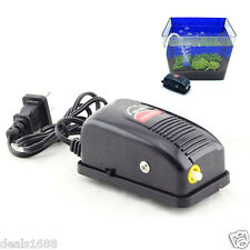 Efficient Aquarium Oxygen Fish Air Pump Tank Energy Super Silent Adjustable New