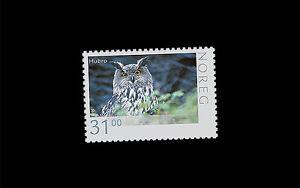 Noorwegen-2015-Natuur-Uil-owl-eule-postfris-mnh