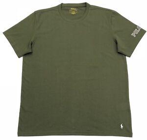 Polo-Ralph-Lauren-Crew-Neck-T-Shirt-en-vert-olive