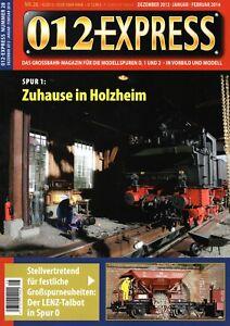 012 Express Nº 28 Grossbahn Magazine Piste 0, 1 Et 2 Top Neuf Chaud Et Coupe-Vent