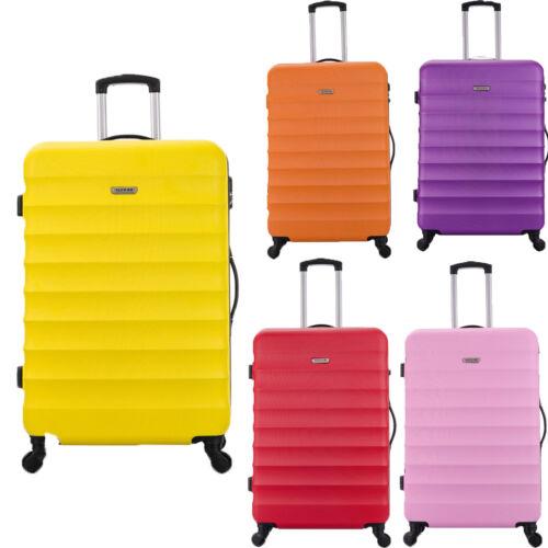 Grand XL 4 Roue Valises M Baggage ABS Coque Rigide Voyage Chariot Étui Tenir