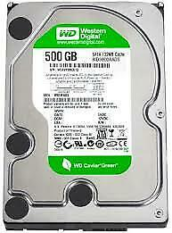 Western Digital WD5000AVDS 500GB SATA II 3.0Gb//s 3.5 Internal Hard Drive
