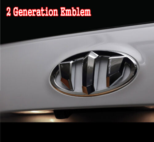 Kia Sportage 2Generation Brenthon Grill Trunk Emblem Badge For 2011~2014 2015