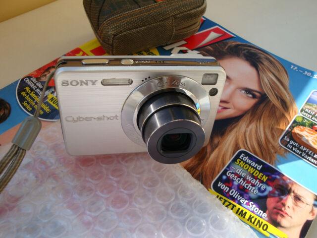 Sony Cyber-shot DSC-W120 ... silver ...