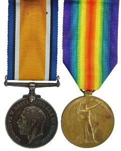 WW1-BRITISH-WAR-VICTORY-MEDAL-PAIR-301270-A-CPL-G-A-H-WATTS-ESSEX-R