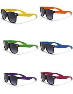 New-Retro-Vintage-Style-2-tone-Color-Classic-Sunglasses-Pick-Your-Style-wf01rb