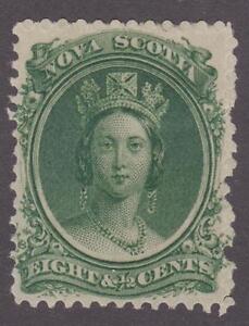 Canada-Nova-Scotia-1860-63-11-Queen-Victoria-MH-VF