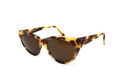 Vintage Brown Tortoise Spider Mod. 59 Lady Cat Eye // Vintage 1990s Sunglasses