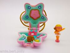 Polly Pocket Mini ♥ Zauberfee  Kettchen 1992 ♥**FAIRY GARDEN LOCKET♥**KOMPLETT*
